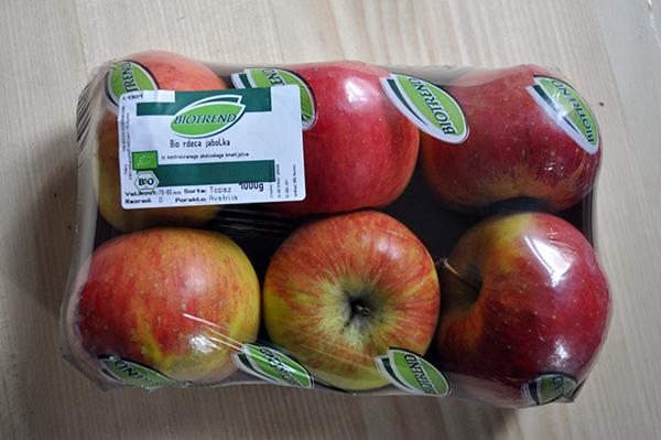 bio jabolka